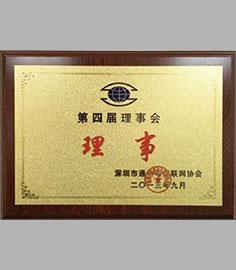 深圳市通信与互联网协会第四届理事会理事