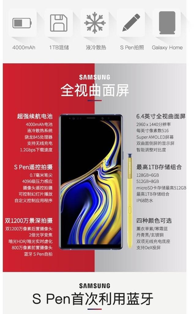 【快讯】三星Note9发布,信析宝智慧短信大家族再添一员!