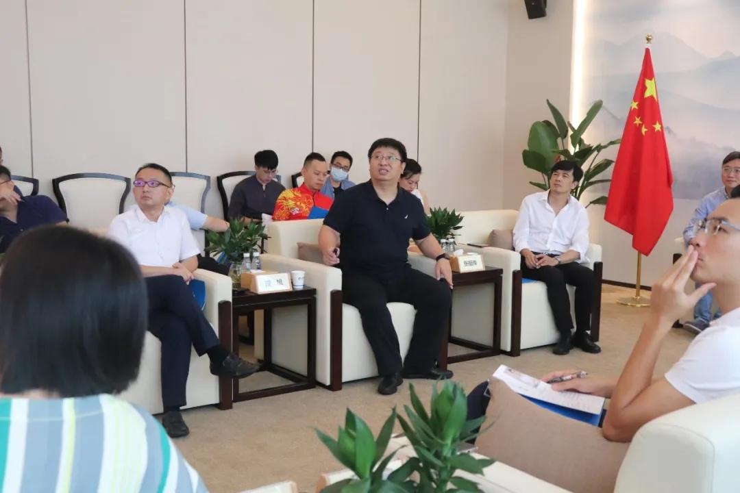 佛山市禅城区委统战部领导一行来访小源集团